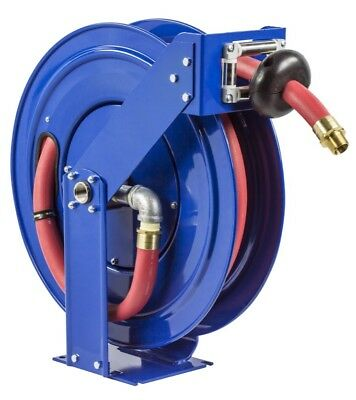 "COXREELS TSHF-N-650 Supreme Duty Fuel Hose Reel 1"" x 50' w/ hose 300 PSI"