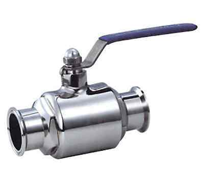 """Stainless Steel 1/2"""" Tri Clamp Ball Valve Sanitary 3A"""