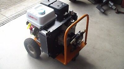 Hydraulic power pack compact trailer power unit pony motor