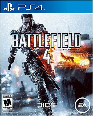 Battlefield 4 - PlayStation 4 Brand New Ps4 Games Sony Factory Sealed