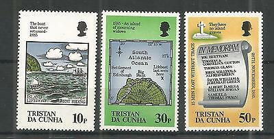 Tristan Da Cunha 1985 Loss Of Lifeboat Sg,399-401 Um/m Nh Lot 1110A
