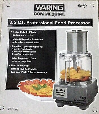 Waring Commercial CUISINART Batch PRO Food Processor w/ LiquiLock Seal System,