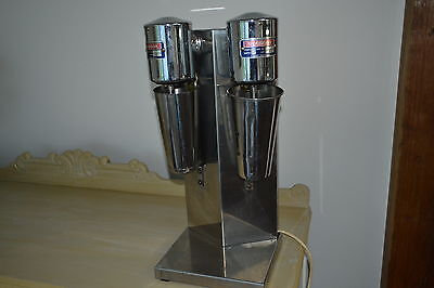 Very Rare Vintage Woodson Twin Milkshake mixer Stainless steel Australian made