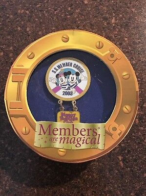 S.S. Member Cruise - 2003 Member Exclusive Disney Pin Minnie Mickey