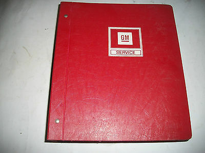 1985 CHEVROLET CAMARO SHOP MANUAL with WIRING DIAGRAMS HARD COVER VERY CLEAN