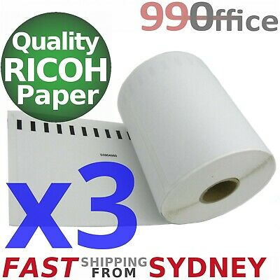 3x Compatible Dymo 4XL Label 220 Roll SD0904980, Large 104x159mm, eParcel Sydney