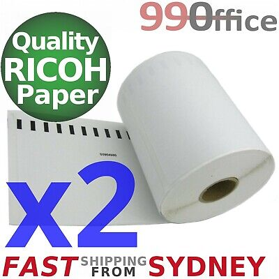 2x Compatible Dymo 4XL Label 220 Roll SD0904980, Large 104x159mm, from Sydney