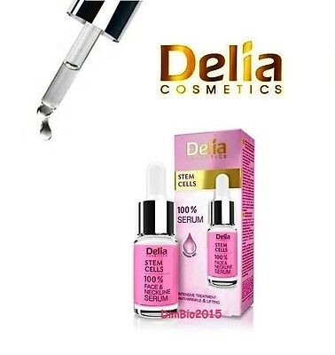 100% SERUM with STEM CELLS, Intensive ANTI-WRINKLE LIFTING DELIA 10 ml