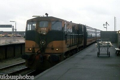 CIE 156 Dundalk arriving at Rosslare Eire Rail Photo