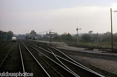 Limerick Junction station looking south 1985 Eire Rail Photo