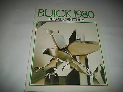 1980 BUICK REGAL and CENTURY SALES BROCHURE CDN MARKET ISSUE EXCELLENT