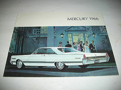 1966 Mercury Sales Brochure Catalog Canadian Issue Montclair Parklane Very Clean