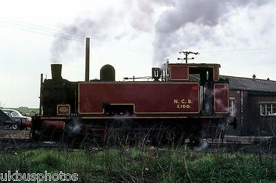 NCB hc 0-6-0t No.s102 Peckfield Colliery West Yorkshire 1970 Rail Photo