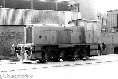 NCB 0-6-0d Askern Main Sth Yorkshire Colliery Rail Photo