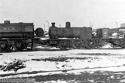 NCB 0-6-0 dismantled Manvers Main Sth Yorkshire 1969 Colliery Rail Photo