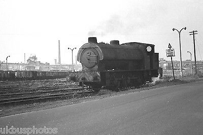 NCB Austerity 0-6-0st Manvers Main Colliery Sth Yorkshire Colliery Rail Photo D