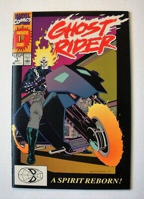 Ghost Rider #1 (May 1990, Marvel) 9.2 NM-