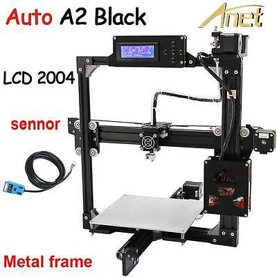 Auto Leveling Optional Full Metal Frame Anet A2 3D Printer DIY Self-Assembly LCD