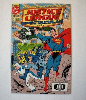 Justice League Spectacular #1 (Mar-Apr 1992, DC) 9.6 NM+ or better