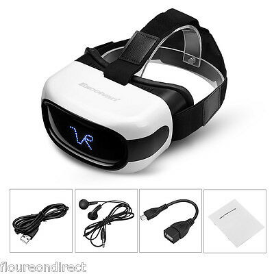 All in one Android5.1 1Go+8Go 3D VR lunettes Réalité virtuelle Bluetooth WiFi TF