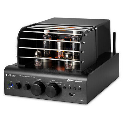 HiFi Bluetooth Vacuum Tube Amplifier Stereo Receiver Hybrid Subwoofer Power Amp