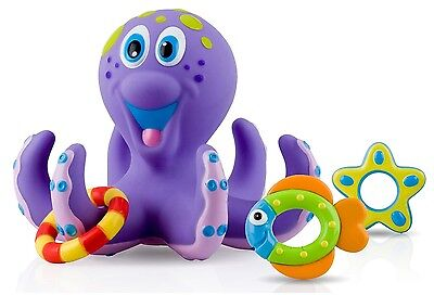 Bath Baby Toy Kids Toddler Boys Girls Bathroom Octopus Floating Play Fun Toys