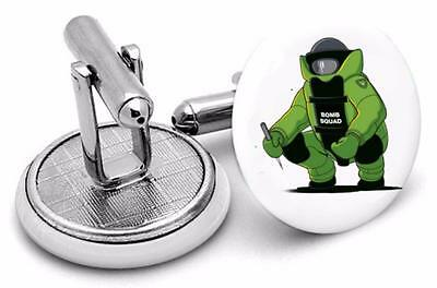 Bomb Squad  Up  logo Mens Cufflinks ,Birthday  Gifts Cufflinks t2