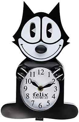 Felix the Cat 3 D Motion Clock Eyes And Tail Swing Back Forth Collectible Item