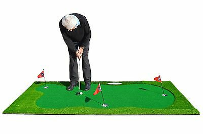 Golf Putting Green Huge Mat - Indoor / Outdoor Practice Training Aid Extra Large