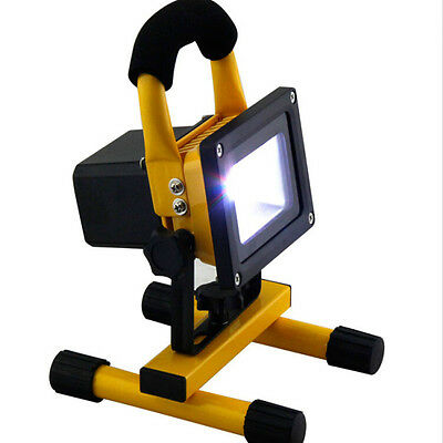 10/20/30/50W Portable Work Light Rechargeable LED Flood Spot Camping Hiking Lamp