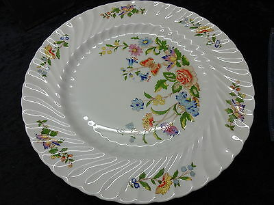 Aynsley Bone China Dinner Plate (26.4cm) Country Garden Pattern, Swrill