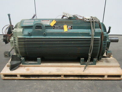 RELIANCE ELECTRIC DUTY MASTER 900 HP AC Motor 1791RPM 4000 Volts 115 Amp