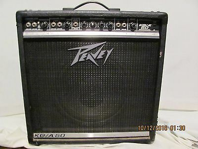 peavey KB / A60 Keyboard , acoustic  guitar amplifier , 2 channel amp 60w USA