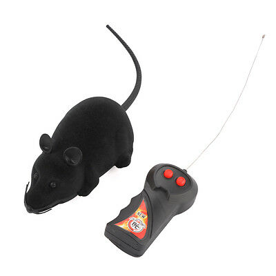 Novelty Funny RC Wireless Prank Remote Control Rat Mouse Toy for Cat Dog Pet