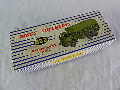 Dinky Toys 622 - 10 Ton Army Truck  - Diecast in Box - 1960er Jahre