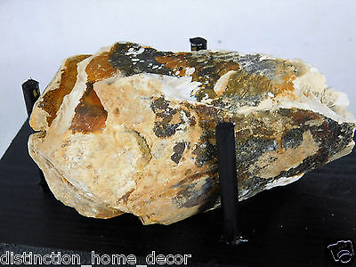 16) Large Genuine Woolly Mammoth Tusk Specimen - Fossil + Stand  UK Ice Age Gift