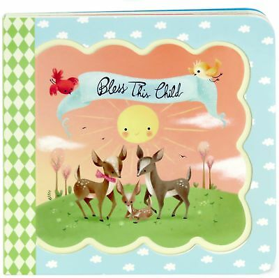 NEW Bless This Child Greeting Card Keepsake Board Book for Babies