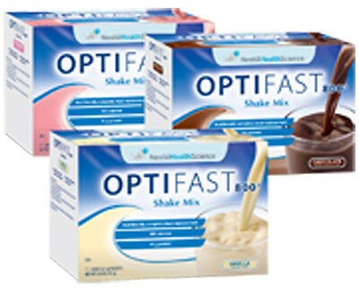 Optifast 800 Chocolate Powder Shakes | 84 Servings Per Case | New / Fresh
