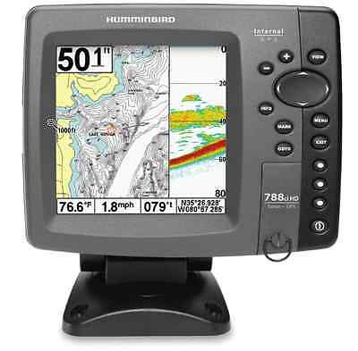 "Humminbird 788ci HD Combo Sonar GPS Fishfinder 83/200 w/ 5"" Display & Transducer"