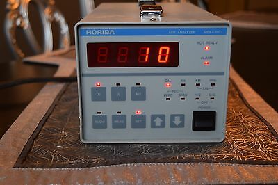 Horiba MEXA-110 AFR Analyzer in working condition .Carb air fuel mixture exhaust