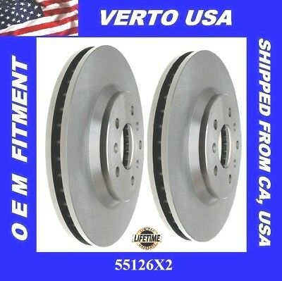 Front Brake Rotors For Buick Lucerne , Chevrolet Impala, Limited, Monet Carlo