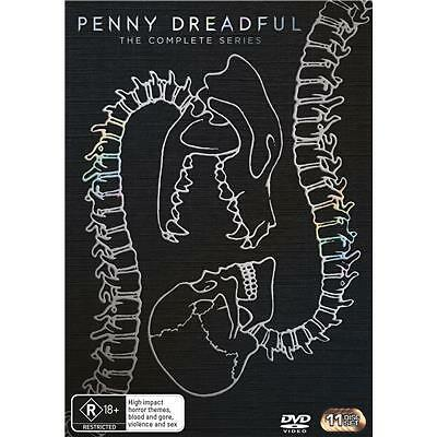 Penny Dreadful : Season 1-3 (DVD, 2016, 11-Disc Set) (Region 4) Aussie Release