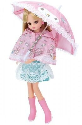 My Melody Rain Coat set Takara Tomy Licca Doll (Doll is not Included)