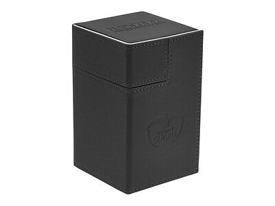 Deck Box Ultimate Guard Flip n Tray Deck Case 100+ Standard Size XenoSkin Black