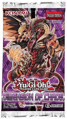 Yu-Gi-Oh! TCG Dimension Of Chaos Booster Pack