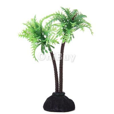 10cm Cocotier Artificielle Plante Aquarium Decoration Aquarium pour Poisson