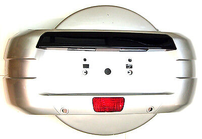 MITSUBISHI Pajero/Montero/Shogun 2007-2015 Rear SPARE WHEEL COVER+ tail fog lamp