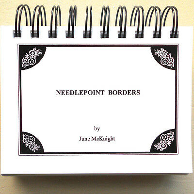 Needlepoint Stitch Reference Book Needlepoint Borders by June McKnight