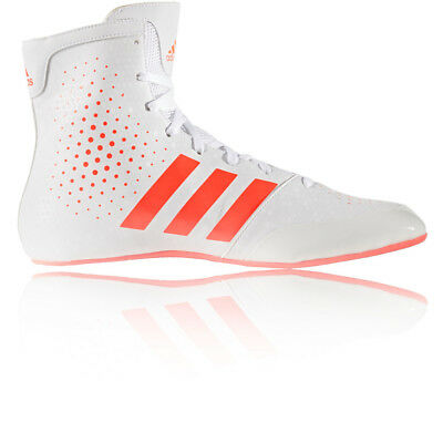 Adidas K Legend 16.2 Mens White Boxing Shoes Training Sports Trainers