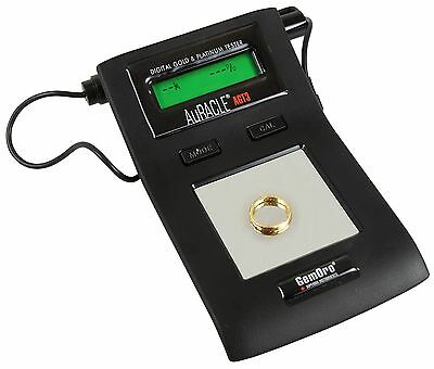 GemOro AGT3 AuRACLE Gold Tester Gold & Platinum Jewelry LCD Panel Free Ship